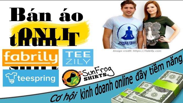 Bán áo thun kiếm tiền online